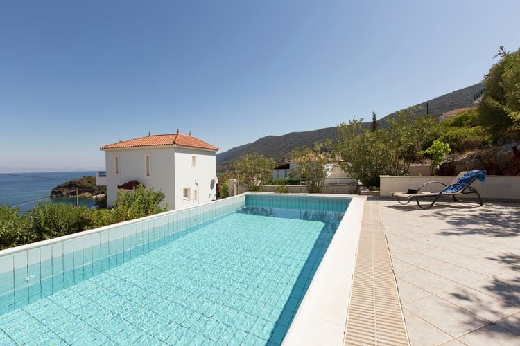 Griekenland | Samos | Villa te huur in Aghia-Paraskevi met zwembad  met wifi 5 personen