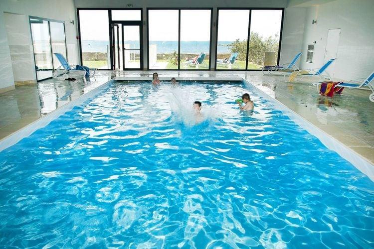 Appartementen Frankrijk | Bretagne | Appartement te huur in Plougasnou met zwembad  met wifi 6 personen