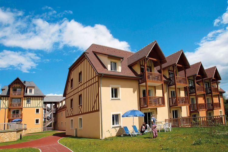 Frankrijk | Normandie | Appartement te huur in Saint-Arnoult met zwembad  met wifi 5 personen