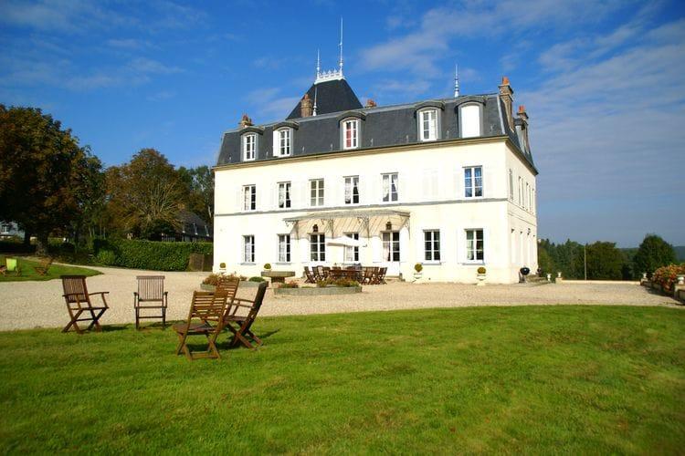 Frankrijk | Normandie | Kasteel te huur in Asnieres   met wifi 35 personen
