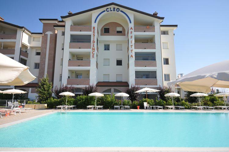 Appartement met zwembad met wifi  Lido-Degli-EstensiResidence Cleo 3