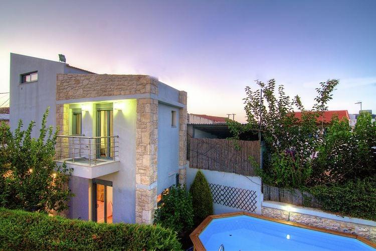 Vakantiehuizen Griekenland | Kreta | Villa te huur in Pigi-Village met zwembad  met wifi 10 personen