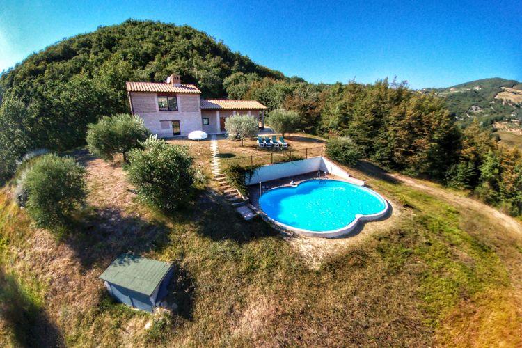 Vakantiehuizen Italie | Umbrie | Vakantiehuis te huur in Assisi met zwembad  met wifi 6 personen