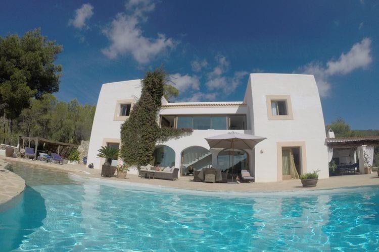 San-Carlos Vakantiewoningen te huur Prachtige villa met privé-zwembad en zeezicht rustig gelegen vlakbij San Carlos