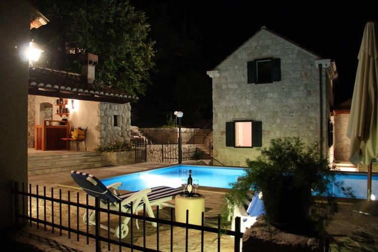 Villa Kroatië, Dalmatie, GRUDA Villa HR-20217-01
