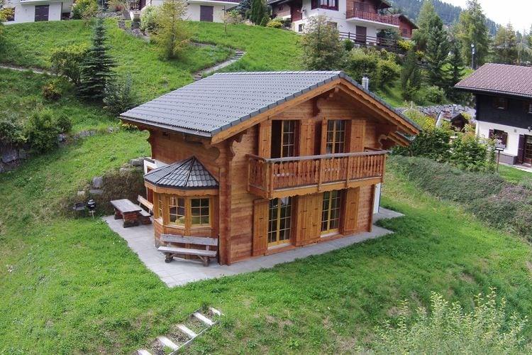 Zwitserland Chalets te huur Comfortabel chalet aan rand van La Tzoumaz