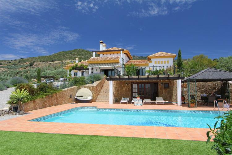 Vakantiehuizen Spanje | Andalucia | Villa te huur in Villanueva-de-la-Concepcion met zwembad  met wifi 8 personen