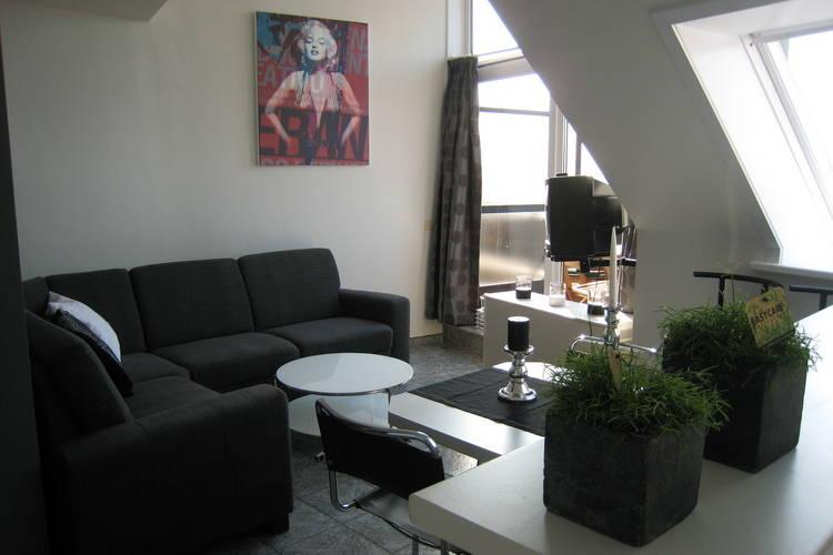 Sfeervol appartement met balkon op 100m afstand van zee te Knokke-Heist