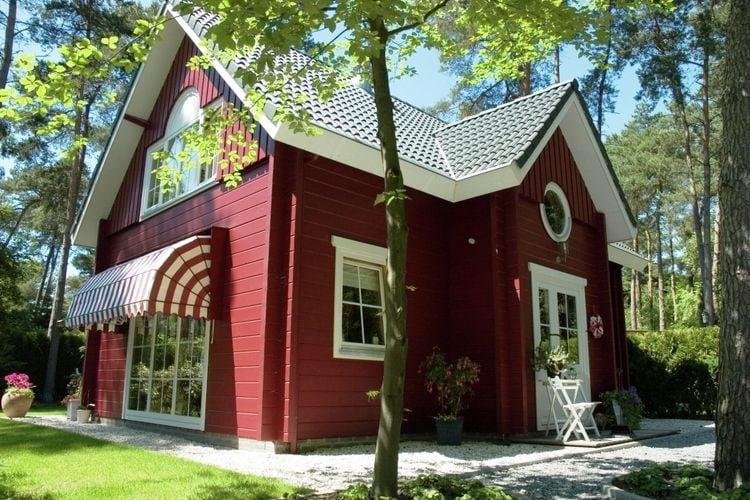 Luxueus en comfortabel ingerichte boshuizen met gebruik van vele vakantieparkfaciliteiten