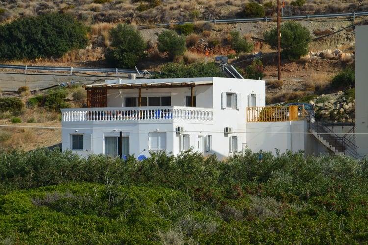 Griekenland | Kreta | Villa te huur in Makrigialos   met wifi 6 personen