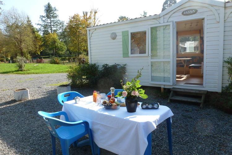 Sta caravan met zwembad met wifi  St. Honoré-Les-Bains  Camping les Bains 2