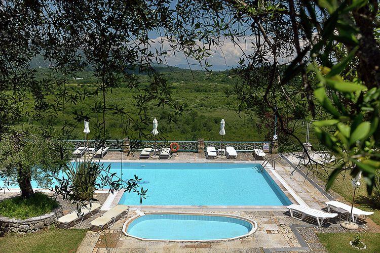 Vakantiehuizen Griekenland | Corfu | Appartement te huur in Paleokastritsa-Corfu met zwembad  met wifi 3 personen