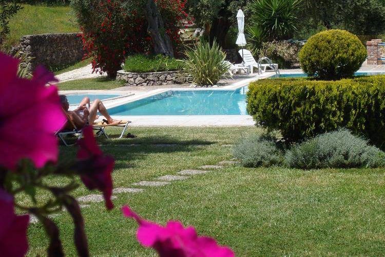 Vakantiehuizen Griekenland | Corfu | Appartement te huur in Paleokastritsa-Corfu met zwembad  met wifi 4 personen