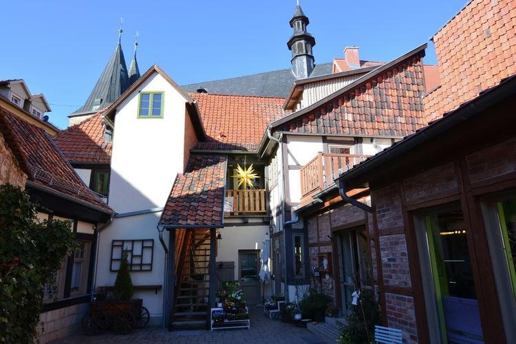 Berlijn Appartementen te huur Appartement met veel geschiedenis in het oude centrum van Quedlingburg