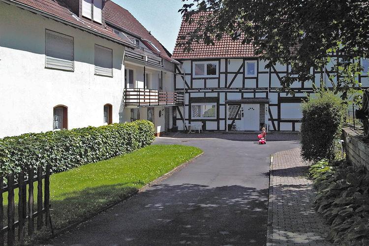 Hessen Appartementen te huur Mooi appartement met balkon, vlak bij de Edersee