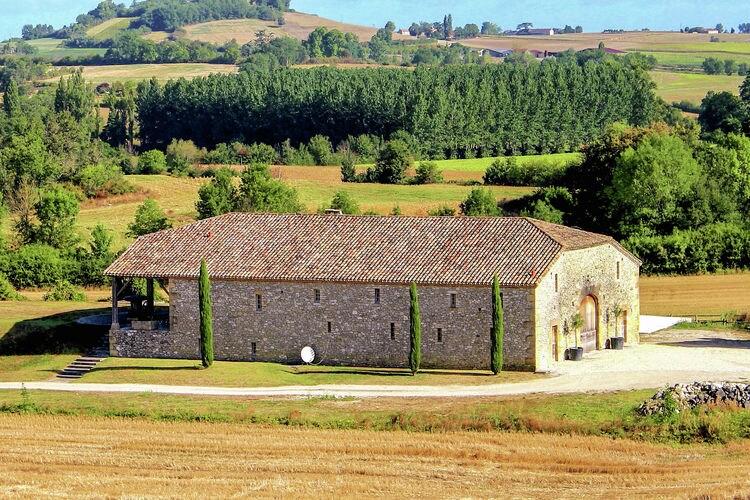 Frankrijk | Dordogne | Vakantiehuis te huur in Montagnac-sur-Lede met zwembad  met wifi 14 personen