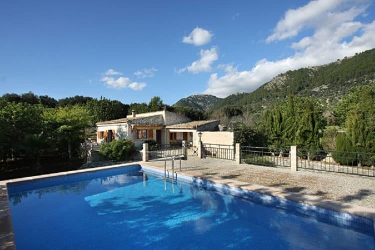 vakantiehuis Spanje, Mallorca, Campanet vakantiehuis ES-07310-15