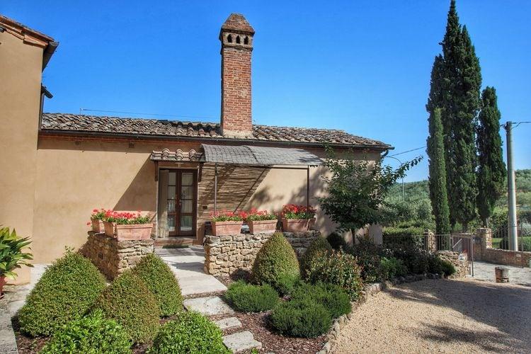 Vakantiehuizen Italie | Toscana | Vakantiehuis te huur in Rapolano-Terme met zwembad  met wifi 4 personen
