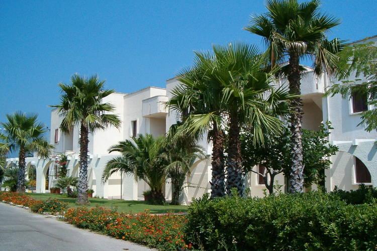 Residence in typisch mediterrane stijl met uitzicht over de Adriatische Zee