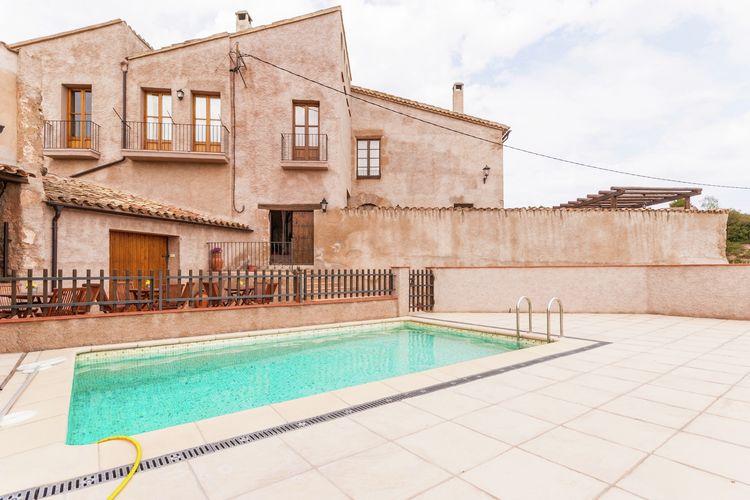 Vakantiehuis met zwembad  aan zee Maians-Castellfollit del Boix  Can Códol 2