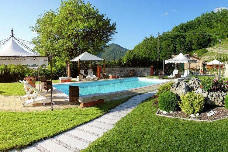Vakantiehuizen Italie | Marche | Vakantiehuis te huur in Cagli met zwembad  met wifi 5 personen