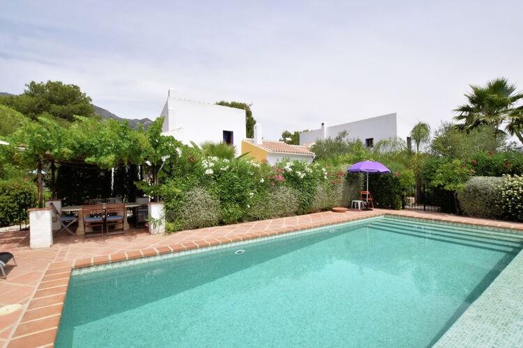 Alozaina Vakantiewoningen te huur Appartement met gemeenschappelijk zwembad gelegen tussen olijfgaarden, Alozaina