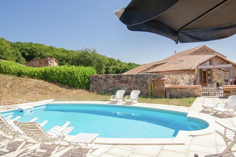 vakantiehuis Frankrijk, Dordogne, Roussines vakantiehuis FR-16310-05