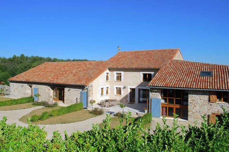 Vakantiehuizen Frankrijk | Cote-Atlantique | Vakantiehuis te huur in Roussines met zwembad  met wifi 6 personen
