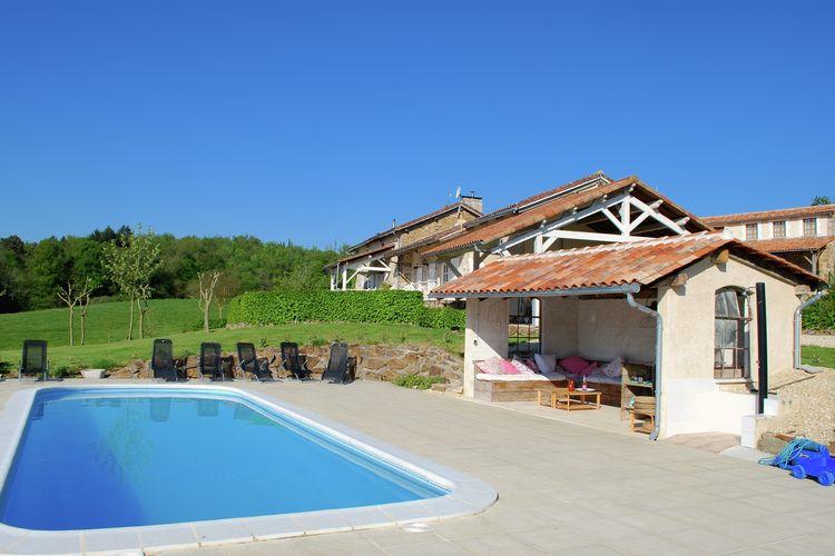vakantiehuis Frankrijk, Dordogne, Roussines vakantiehuis FR-16310-06