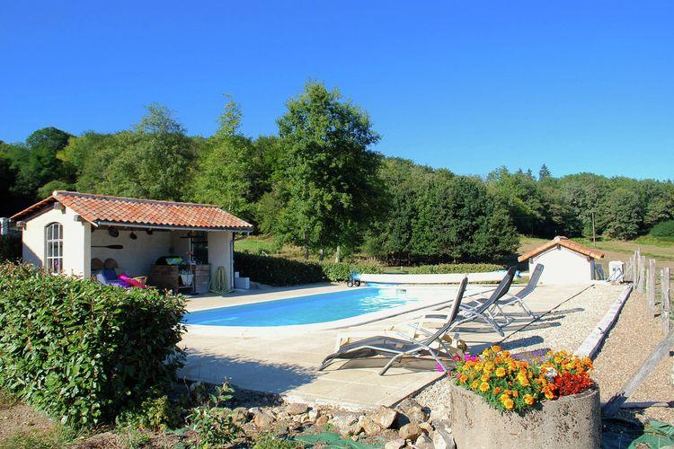 vakantiehuis Frankrijk, Dordogne, Roussines vakantiehuis FR-16310-01