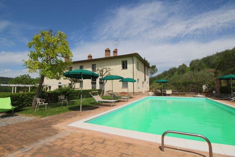 San-Gimignano Vakantiewoningen te huur Prachtige agriturismo met zwembad en uitzicht over wijngaarden en olijfbomen
