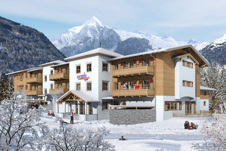 Mountain Resort Kaprun type ST - Apartment - Kaprun - Exterior - Winter