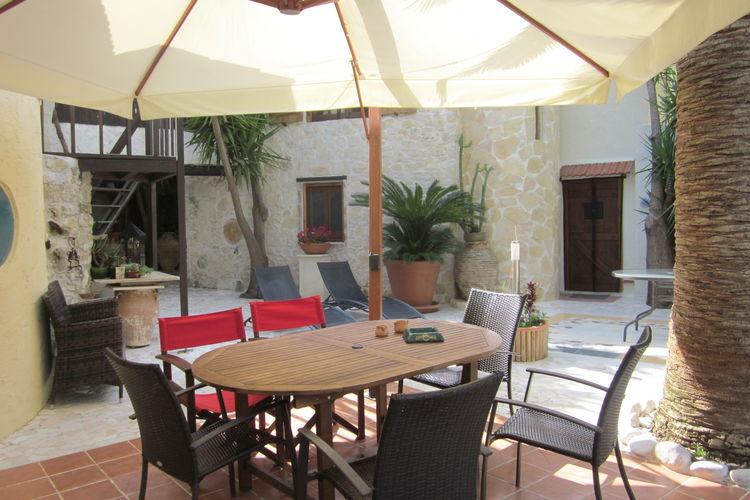 Villa Griekenland, kreta, Giannoudi/Rethymno Villa GR-74100-14