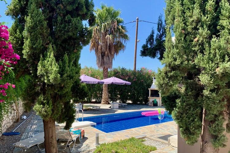 Vakantiehuizen Griekenland | Kreta | Villa te huur in Loutra met zwembad  met wifi 8 personen