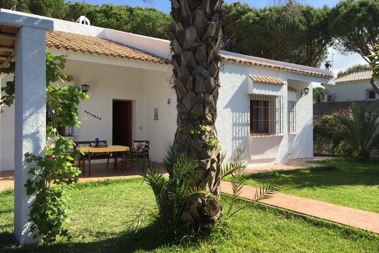 Luz Vakantiewoningen te huur Vrijstaand vakantiehuis in Roche op 700 m van het strand, aan de Costa de la Luz