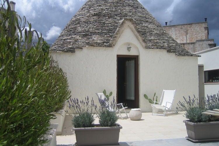 Woning Italie | Puglia | Vakantiehuis te huur in Alberobello   met wifi 4 personen