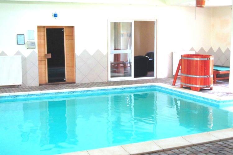 Vakantiewoning met zwembad met wifi  Sourbrodt  Luxe, zeer ruim vakantiehuis in vroeger dorpscafé met bioscoop, wellness en bar