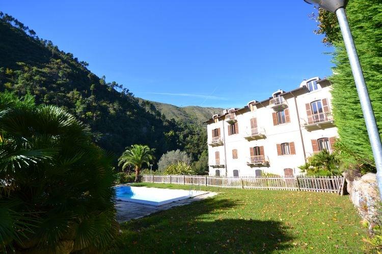 Vakantiewoning huren in Airole - met zwembad  met wifi met zwembad voor 4 personen  Dit gezellige vakantieappartement ..