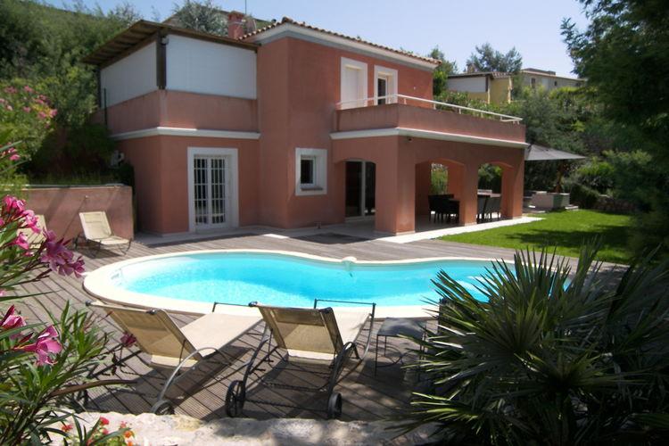 CANNES Vakantiewoningen te huur Vrijstaande vakantievilla met airco en zwembad nabij de levendige Croisette