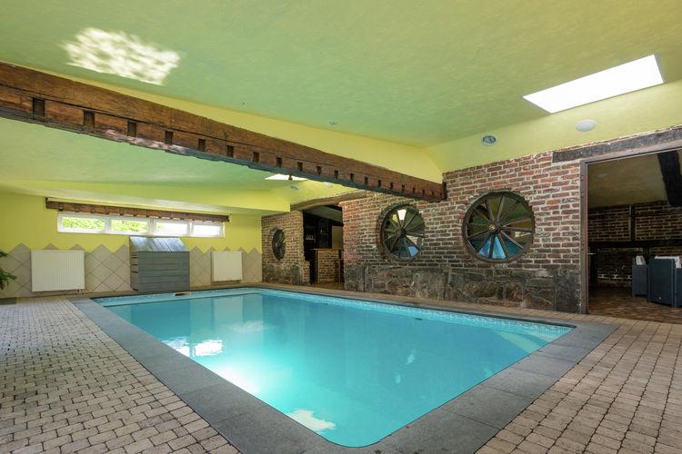 Woning Belgie | Luik | Vakantiehuis te huur in Waimes met zwembad  met wifi 21 personen