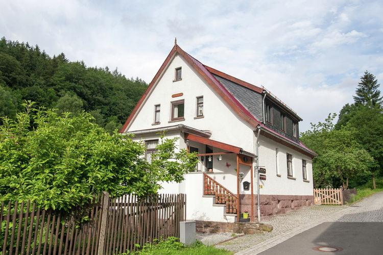 Duitsland | Thuringen | Vakantiehuis te huur in Unterschonau   met wifi 10 personen