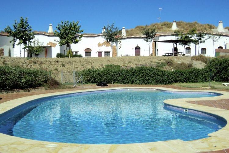 Vakantiehuizen Bejarin-Purullena- te huur Bejarin-(-Purullena-)- ES-18500-01 met zwembad  met wifi te huur