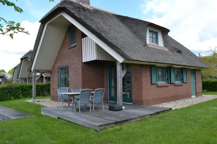 Nederland | Overijssel | Villa te huur in Wanneperveen   met wifi 6 personen
