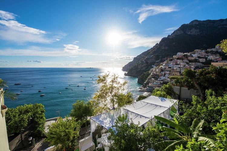 Villa met jacuzzi, zwembad en tuin in Positano, prachtig uitzicht