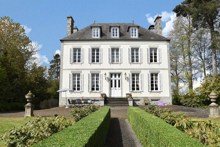 Frankrijk | Normandie | Vakantiehuis te huur in St-Germain-de-Tallevende-la-Lande-Vaumont   met wifi 8 personen
