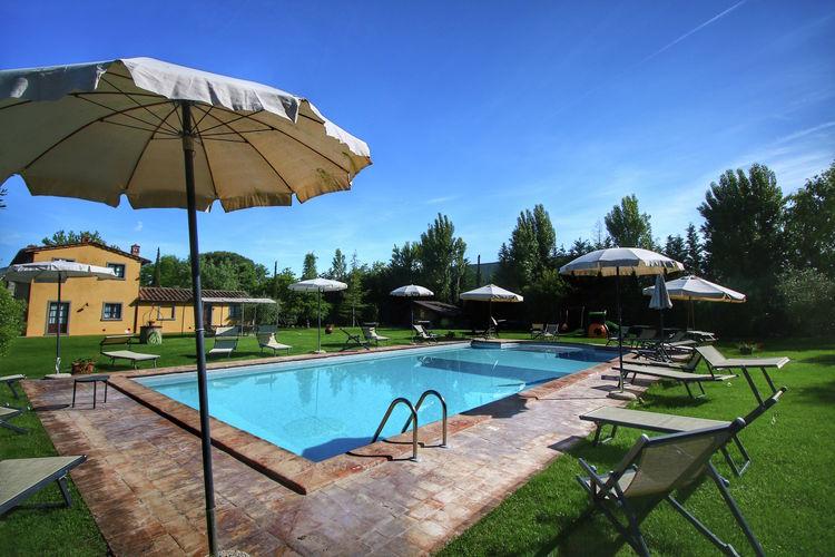 Boerderijen Italie | Toscana | Boerderij te huur in Cortona met zwembad  met wifi 4 personen