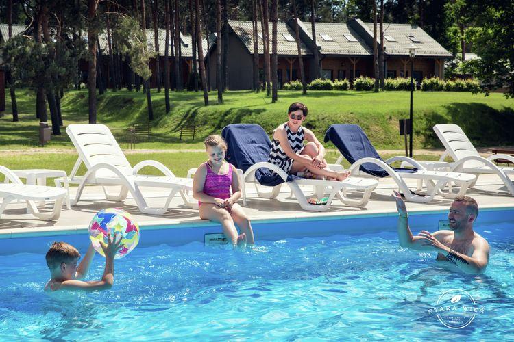 Vakantiewoning  met wifi  Zalecze Male  Resort Stara wie?