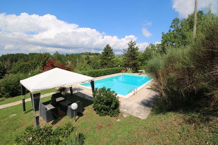 Chalet met zwembad met wifi  Città di Castello  Casa Lauretta