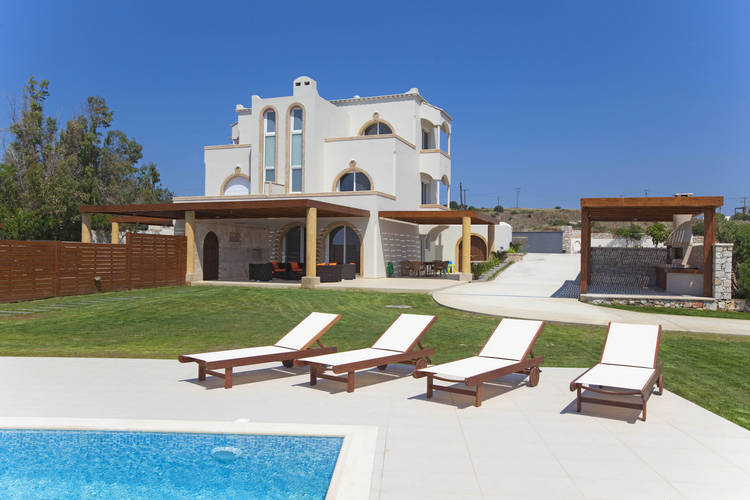 Gennadi Luxury Beach Front Villa  Rhodes Greece