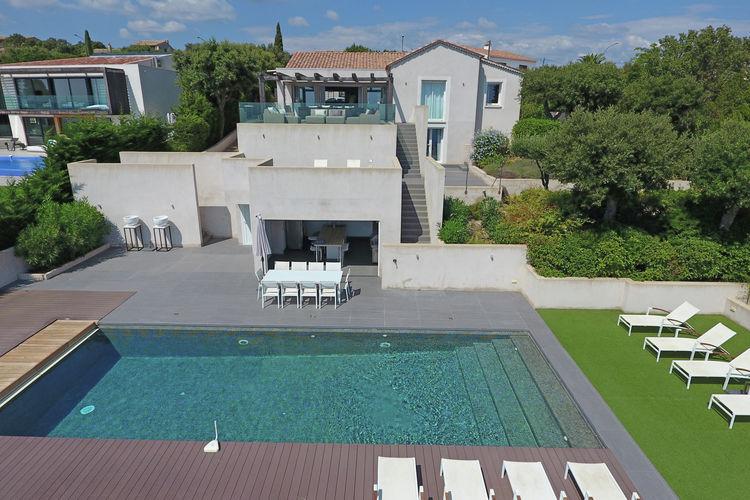 Vakantiehuizen Frankrijk | Provence-alpes-cote-d-azur | Villa te huur in Les-Issambres met zwembad  met wifi 10 personen